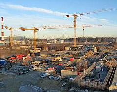 Стройка энергоблока на Белоярской АЭС-2