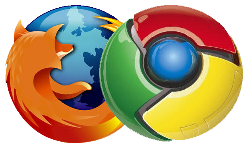 Firefox - Google Chrome